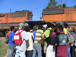 la bestia central american migrants and la bestia the route dangers and