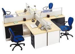 bureau marguerite marguerite a 4 places avec caissoons fixe marguerites bureau