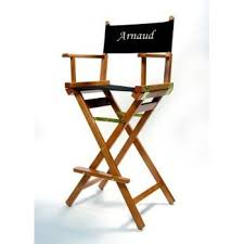 siege metteur en chaise haute metteur en scène bois personnalisable amazon fr