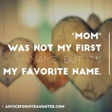 Mother And Daughter Love Quotes by I Love The Name