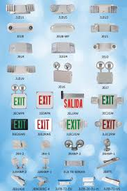 exit emergency light combo jlec2rw ul cul listed exit sign with ul combo china top 1 emergency