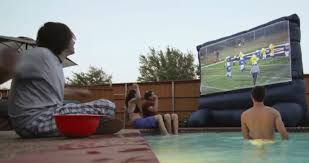 gemmy airblown inflatable movie screen review