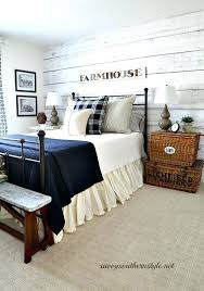 Country Bedroom Ideas On A Budget Country Bedroom Ideas Country Bedroom With Tweed Bed