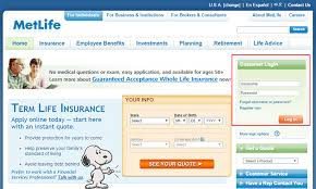 metlife auto insurance login make a payment