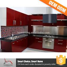 Red Kitchen Cabinets Modern High Gloss Kitchen Cabinet Modern High Gloss Kitchen