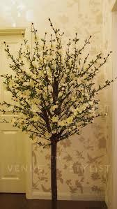 decorative trees u0026 tall candelabras