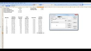 Mortgage Calculation Spreadsheet Calculating Mortgage Payments Using Excel U0027s Solver Functionality