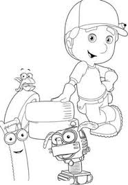 printable tools handy manny coloring kids ethan u0027s