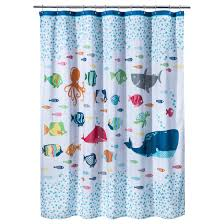 shark shower curtain target circo fish showercurtain state