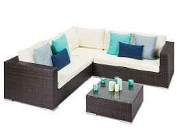 rattan corner sofa tuscany brown rattan garden corner sofa
