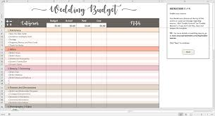Wedding Expenses List Spreadsheet Printable Wedding Budget Excel Template Savvy Spreadsheets