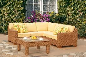 Outdoor Sectionals Patio Furniture Davotanko Home Interior - Yellow patio furniture