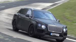 bentley bentayga continues nurburgring testing spy video