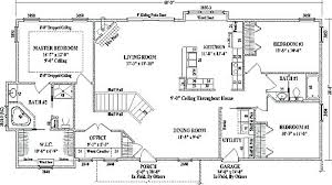 ranch style homes plans plans 4 bedroom ranch style home plans