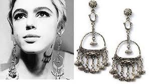 edie sedgwick earrings was edie sedgwick a jewelry designer steve sasco design