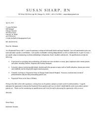 cover letter for registered nurse job application 14205