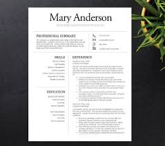best resume template 3 60 best resume format images on professional resume