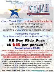 reading kemah discount ride pass for thanksgiving weekend