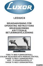 luxor led tv luxor led32cx pdf user u0027s manual free download u0026 preview