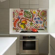 Kitchen Backsplash For Renters - a backsplash solution for rental kitchens fabric under plexiglass