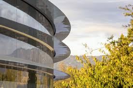 apple park latest drone footage reveals big updates fortune