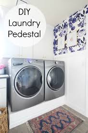 Laundry Room Hours - park home reno diy laundry pedestal classy clutter