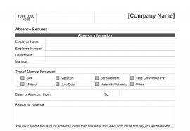 request off form printable time off request form back home time