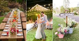 Small Backyard Wedding Ideas Inexpensive Backyard Wedding Ideas Outdoor Goods
