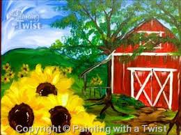 The Red Barn Austin Painting With A Twist