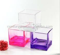 Square Glass Vases Cheap Cheap Clear Glass Decoration Cube Glass Vase Wholesale Buy Cube