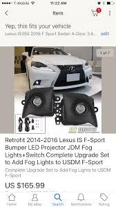 amazon com ijdmtoy complete set yellow lens fog lights foglamp dt moto fog lights clublexus lexus forum discussion