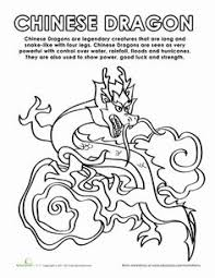 power symbol coloring colors chinese dragon
