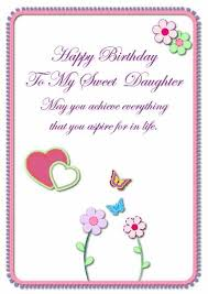 free printable birthday cards daughter 10 best images about