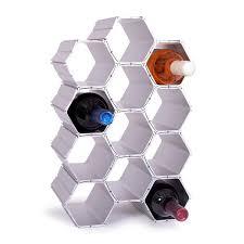 winehive cell modular wine rack set of 12 winehive inc
