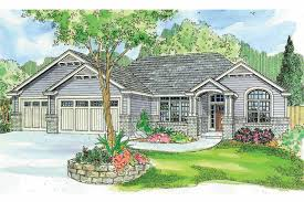 Rambler House by Ranch House Plans Windsor 30 678 Associated Designs