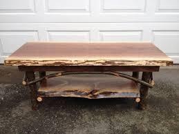 Rustic Walnut Coffee Table Impressive Rustic Walnut Coffee Table Interiorvues