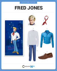 Fred Daphne Halloween Costumes Dress Fred Jones Costume Halloween Cosplay Guides