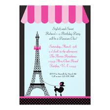 Eiffel Tower Invitations Personalized Paris Eiffel Tower Invitations Custominvitations4u Com