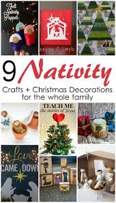 9 nativity crafts and decorations mmm 307 block party keeping