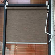 Crank Handles For Windows Decor Yilian Custom Window Size Outdoor Crank Handle Fabric Roller
