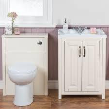 Bathroom Vanity Unit With Basin And Toilet Grey Floor Standing Vanity Unit Grey Makeup Vanity Cloakroom
