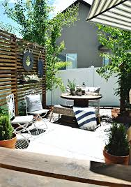 Zing Patio How To Turn A Tiny Yard Into A Trendy Patio Zing Blog By Quicken