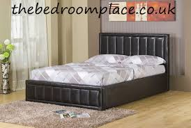 Bari Bedroom Furniture Bari Faux Leather Bed Frame Delivered Through The Uk By The