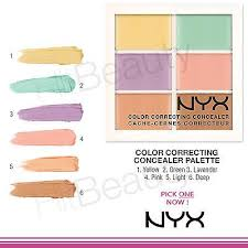 nyx colour correcting concealer palette nyx colour correcting concealer 3c palette shopee singapore