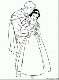 surprising snow white prince coloring pages snow white