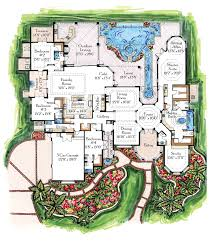 Mega Mansion Floor Plans Cool House Floor Plans Home Designs Kaajmaaja