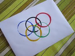 sports party craft u2013 olympic rings printing mermaids makings