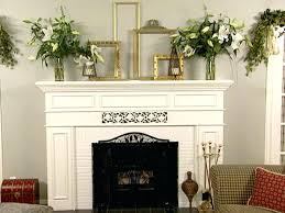 fireplace mantel makeover ideas great fireplace mantel decorating