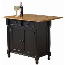 Movable Island Outstanding Portable Kitchen Island With Drop Leaf Including