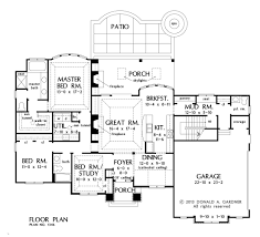 Donald Gardner Floor Plans House Plan The Avant By Donald A Gardner Architects